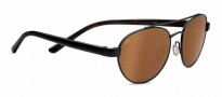 Serengeti Mondello Sunglasses Sunglasses - 7775 Satin Black / Polarized Drivers Gold