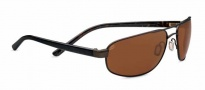 Serengeti Livigno Sunglasses Sunglasses - 7771 Satin Dark Brown / Black Brown Tort / Polarized Drivers