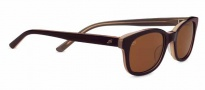 Serengeti Serena Sunglasses Sunglasses - 7780 Burnt Almond Lam / Polarized Drivers