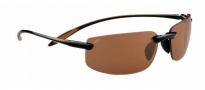 Serengeti Lipari Sunglasses Sunglasses - 7807 Shiny Brown / Polar PhD Drivers