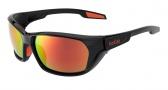 Bolle Aravis Sunglasses Sunglasses - 11661 Shiny Black / Polarized TNS Fire Oleo AF