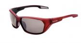 Bolle Aravis Sunglasses Sunglasses - 11662 Matte Red / Polarized TNS Gunmetal Oleo AF
