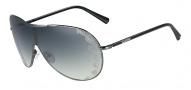 Valentino V100S Sunglasses Sunglasses - 060 Dark Gunmetal
