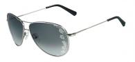 Valentino V101S Sunglasses Sunglasses - 033 Gunmetal