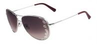 Valentino V101S Sunglasses Sunglasses - 045 Silver