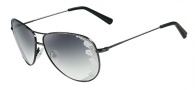 Valentino V101S Sunglasses Sunglasses - 060 Dark Gunmetal
