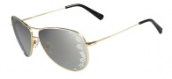 Valentino V101S Sunglasses Sunglasses - 717 Gold