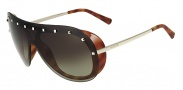 Valentino V102S Sunglasses Sunglasses - 209 Havana / Brown