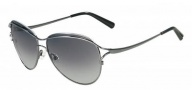 Valentino V103S Sunglasses Sunglasses - 060 Dark Gunmetal