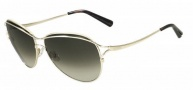 Valentino V103S Sunglasses Sunglasses - 717 Gold
