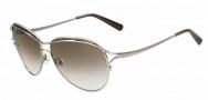 Valentino V103S Sunglasses Sunglasses - 033 Gunmetal