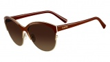 Valentino V104S Sunglasses Sunglasses - 210 Brown