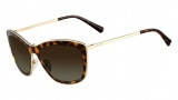 Valentino V108S Sunglasses Sunglasses - 215 Dark Havana