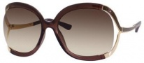 Jimmy Choo Beatrix/S Sunglasses Sunglasses - Brown