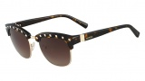 Valentino V112 Sunglasses Sunglasses - 215 Dark Havana