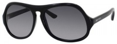 Jimmy Choo Biker/S Sunglasses Sunglasses - Shiny Black