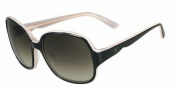 Valentino V601S Sunglasses Sunglasses - 026 Black Rose
