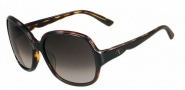 Valentino V601S Sunglasses Sunglasses - 003 Black Havana