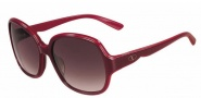 Valentino V601S Sunglasses Sunglasses - 606 Rouge Noir