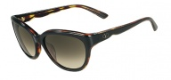 Valentino V602S Sunglasses Sunglasses - 003 Black Havana