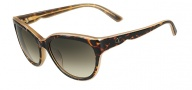 Valentino V602S Sunglasses Sunglasses - 228 Havana Honey
