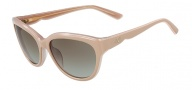 Valentino V602S Sunglasses Sunglasses - 282 Nude Rose