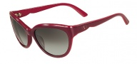 Valentino V602S Sunglasses Sunglasses - 606 Rouge Noir