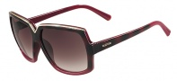 Valentino V604S Sunglasses Sunglasses - 224 Red Havana / Cherry