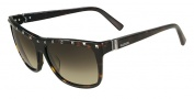Valentino V606S Sunglasses Sunglasses - 215 Dark Havana