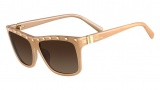Valentino V606S Sunglasses Sunglasses - 290 Nude
