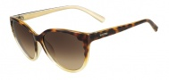 Valentino V607S Sunglasses  Sunglasses - 213 Havana Gold