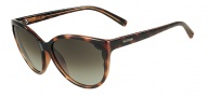 Valentino V607S Sunglasses  Sunglasses - 215 Dark Havana
