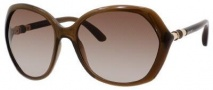 Jimmy Choo Justine/S Sunglasses Sunglasses - Brown Shaded