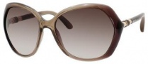 Jimmy Choo Justine/S Sunglasses Sunglasses - Smoke Shaded