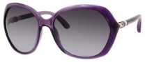 Jimmy Choo Justine/S Sunglasses Sunglasses - Violet Shaded