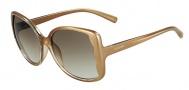 Valentino V609S Sunglasses Sunglasses - 278 Sand