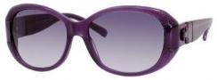Jimmy Choo Kai/S Sunglasses Sunglasses - Violet Glitter Violet