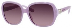 Jimmy Choo Lia/S Sunglasses Sunglasses - Transparent Lavender