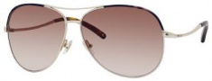 Jimmy Choo Mali/S Sunglasses Sunglasses - Light Gold