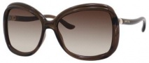 Jimmy Choo Margy/S Sunglasses Sunglasses - Opal Brown
