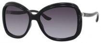 Jimmy Choo Margy/S Sunglasses Sunglasses - Shiny Black