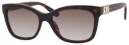 Jimmy Choo Mimi/S Sunglasses Sunglasses - Havana