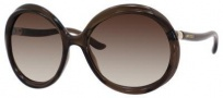 Jimmy Choo Mindy/S Sunglasses Sunglasses - Opal Brown