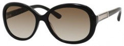 Jimmy Choo Monique/S Sunglasses Sunglasses - Black