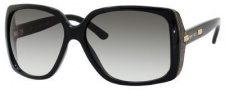 Jimmy Choo Severine/S Sunglasses Sunglasses - Shiny Black