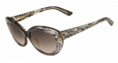 Valentino V610S Sunglasses Sunglasses - 210 Brown