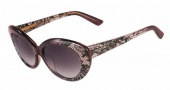 Valentino V610S Sunglasses Sunglasses - 603 Bordeaux