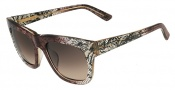 Valentino V611S Sunglasses Sunglasses - 210 Brown