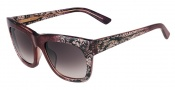 Valentino V611S Sunglasses Sunglasses - 603 Bordeaux