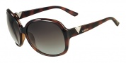 Valentino V612S Sunglasses Sunglasses - 215 Dark Havana